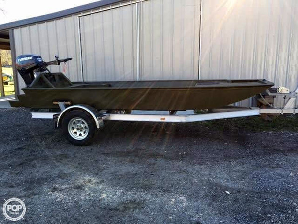 Used Custom Built Aluminum 15 Aluminum Fishing Boat For Sale