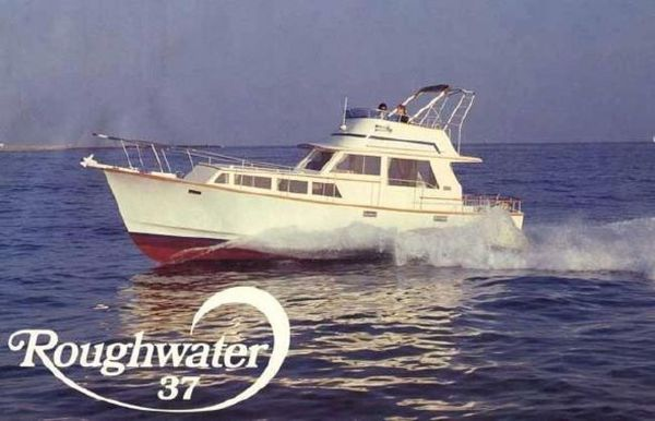 Used Rough Water 37 Downeast Fishing Boat For Sale