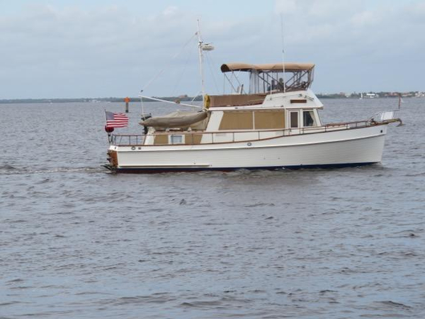 Used Grand Banks 2 Stateroom 42 Classic Aft Cabin Boat For Sale