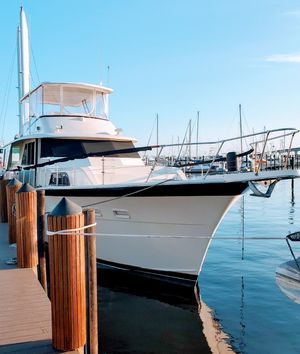 Used Hatteras Yacht Fisher Motor Yacht For Sale
