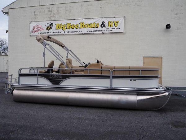 New Lowe SF212 Pontoon Boat For Sale