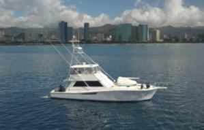 Used Viking sport fishing Cruiser Boat For Sale