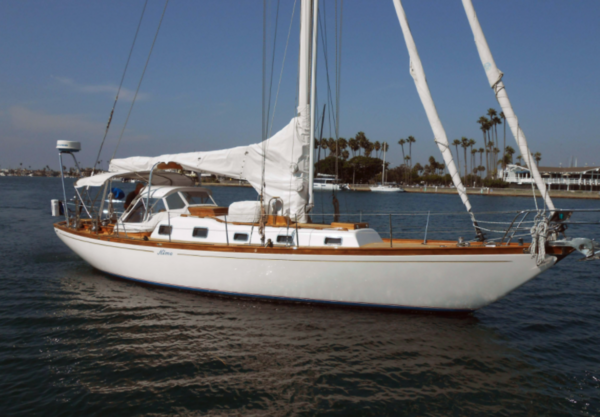 Used Custom Columbia Cutter Sailboat For Sale