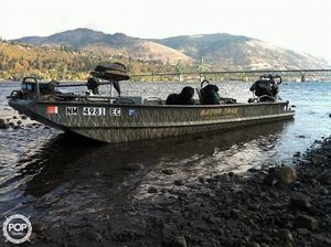 Used Gator Trax Hyper Sport Aluminum Fishing Boat For Sale