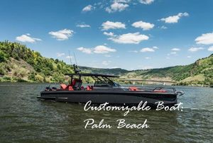 New Brabus Shadow 900 Black Ops Center Console Fishing Boat For Sale
