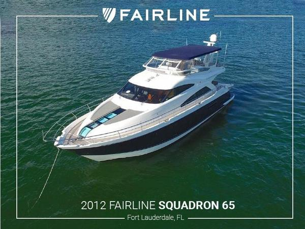 Used Fairline Squadron 65 Flybridge Boat For Sale