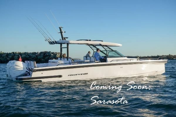 New Axopar 37 Sun Top Revolution Sports Cruiser Boat For Sale