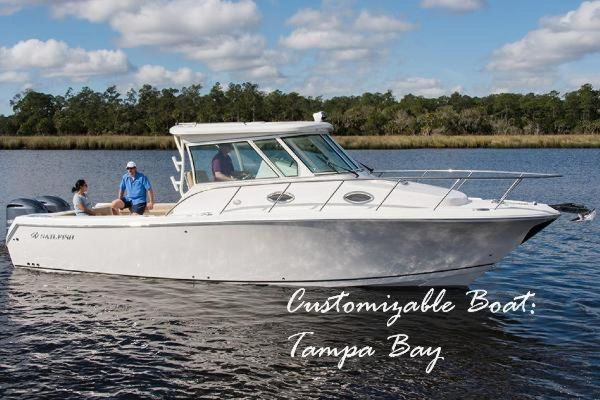 New Sailfish 320 Express Saltwater Fishing Boat For Sale