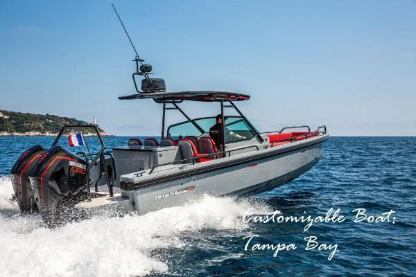New Brabus Shadow 500 by Axopar Center Console Fishing Boat For Sale