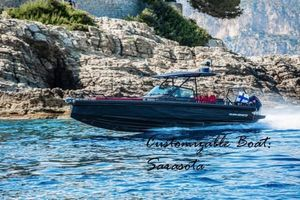 New Brabus Shadow 500 Black Ops Center Console Fishing Boat For Sale