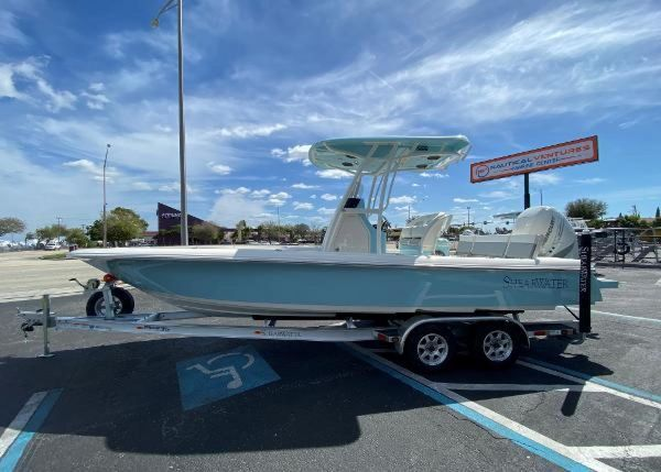 New Shearwater 260 Carolina Flare Center Console Fishing Boat For Sale