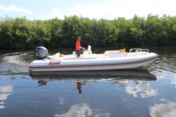 Used Novurania Catamaran 24 Cruiser Boat For Sale