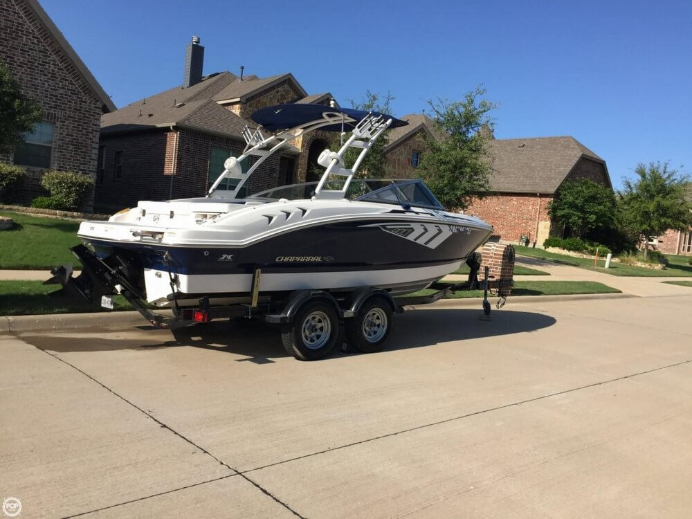 2014 used chaparral h2o 21 ski fish ski and wakeboard for Stock fish for sale texas