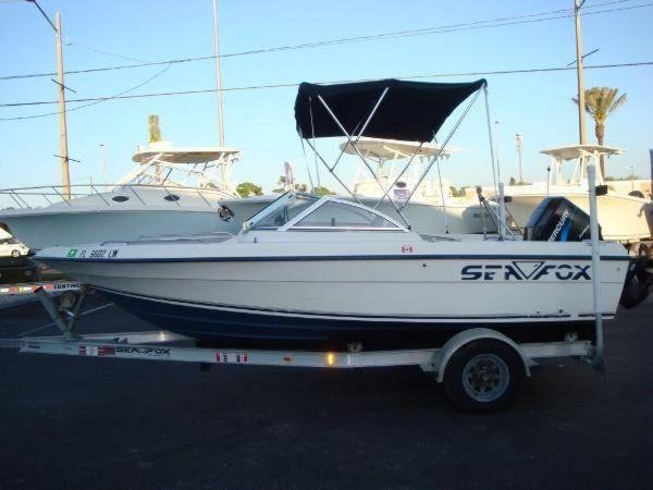 Used Sea Fox 185 Dual Console Cruiser Boat For Sale