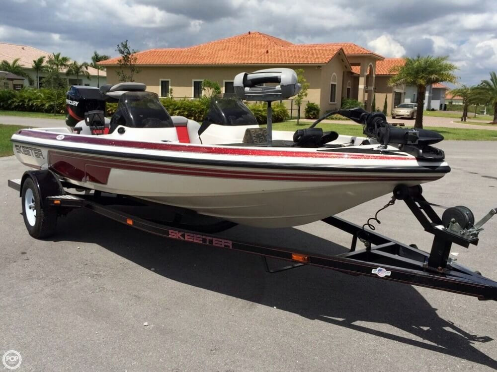 Bass Boat For Sale: Used Skeeter Bass Boat For Sale