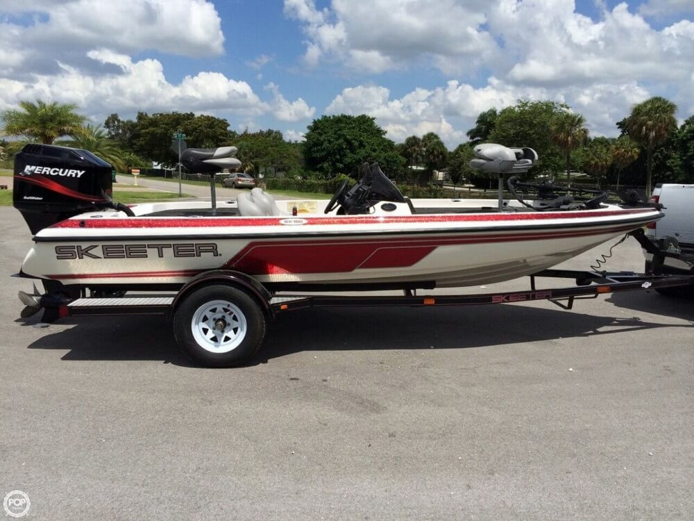 2003 Used Skeeter SX180 Bass Boat For Sale - $13,000 ...