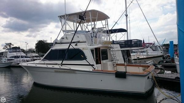 Used Egg Harbor 35 Sportfisher Sports Fishing Boat For Sale