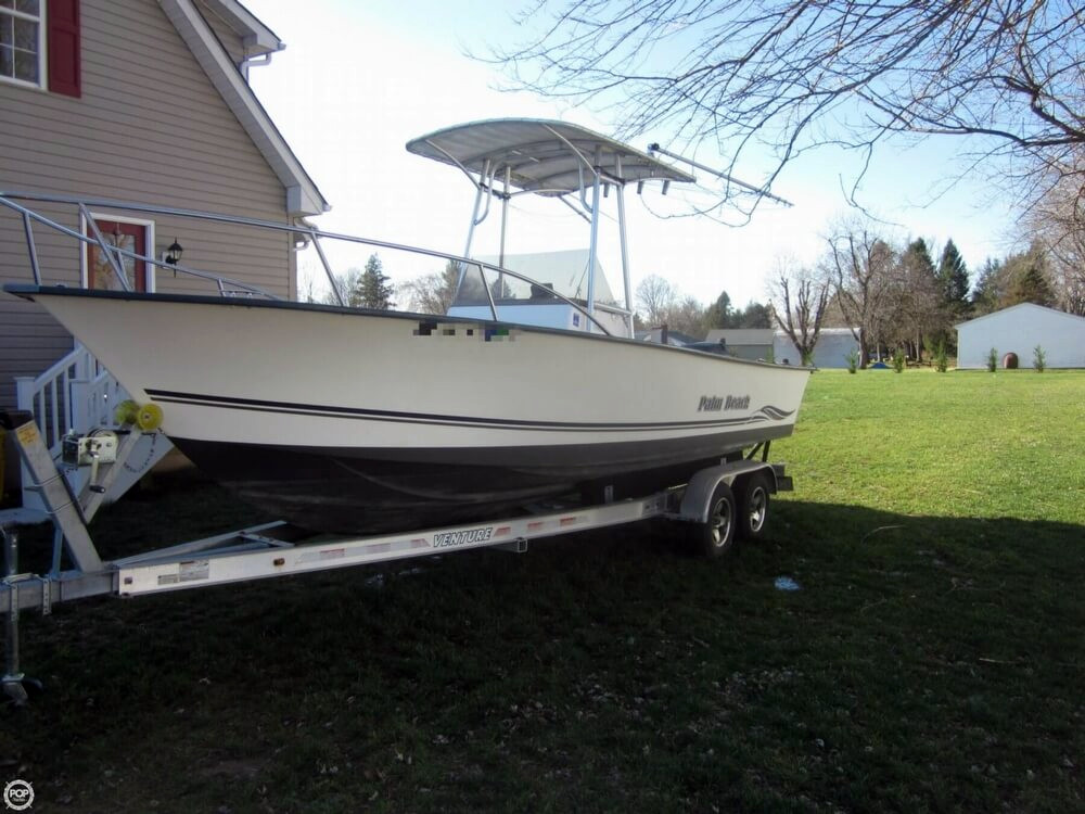 2003 used palm beach whitecap 235 center console fishing for Used fishing boats for sale in md