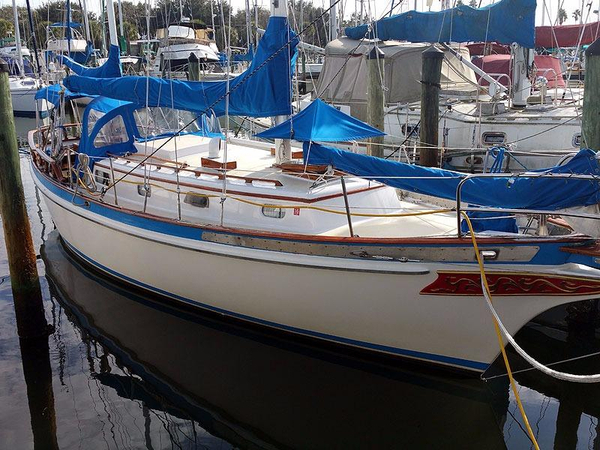 Used Fuji Ketch Sailboat For Sale