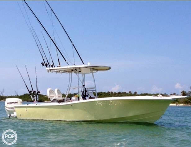 1985 used chris craft 216 sea hawk center console fishing for Seahawk fishing boat