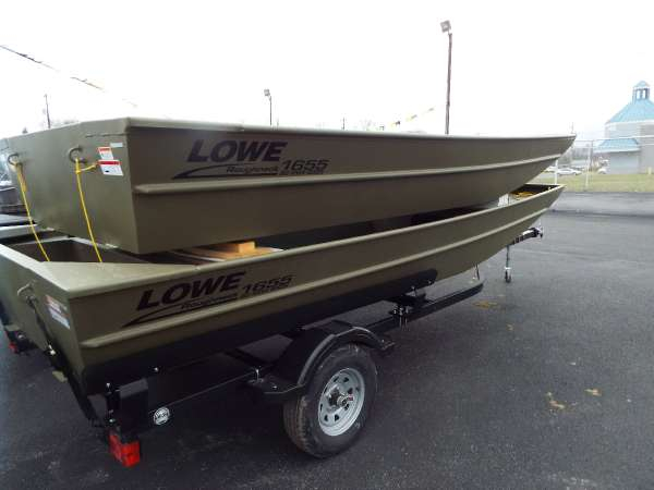 New Lowe Roughneck 1655 BR Jon Boat For Sale