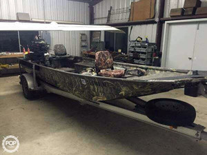 Used War Eagle 860 LDV Aluminum Fishing Boat For Sale