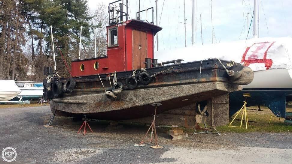 1940 Used Mtl Marine 36 Tug Boat For Sale - $17,500