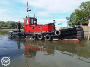 Used Mtl Marine 36 Tug Boat For Sale