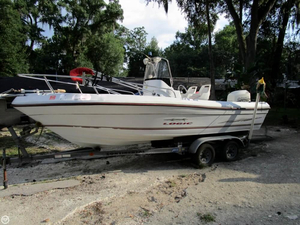 Used Logic 210 CC Center Console Fishing Boat For Sale