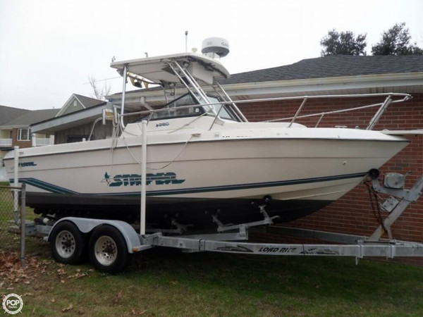 Used Seaswirl 2150 Striper Walkaround Fishing Boat For Sale