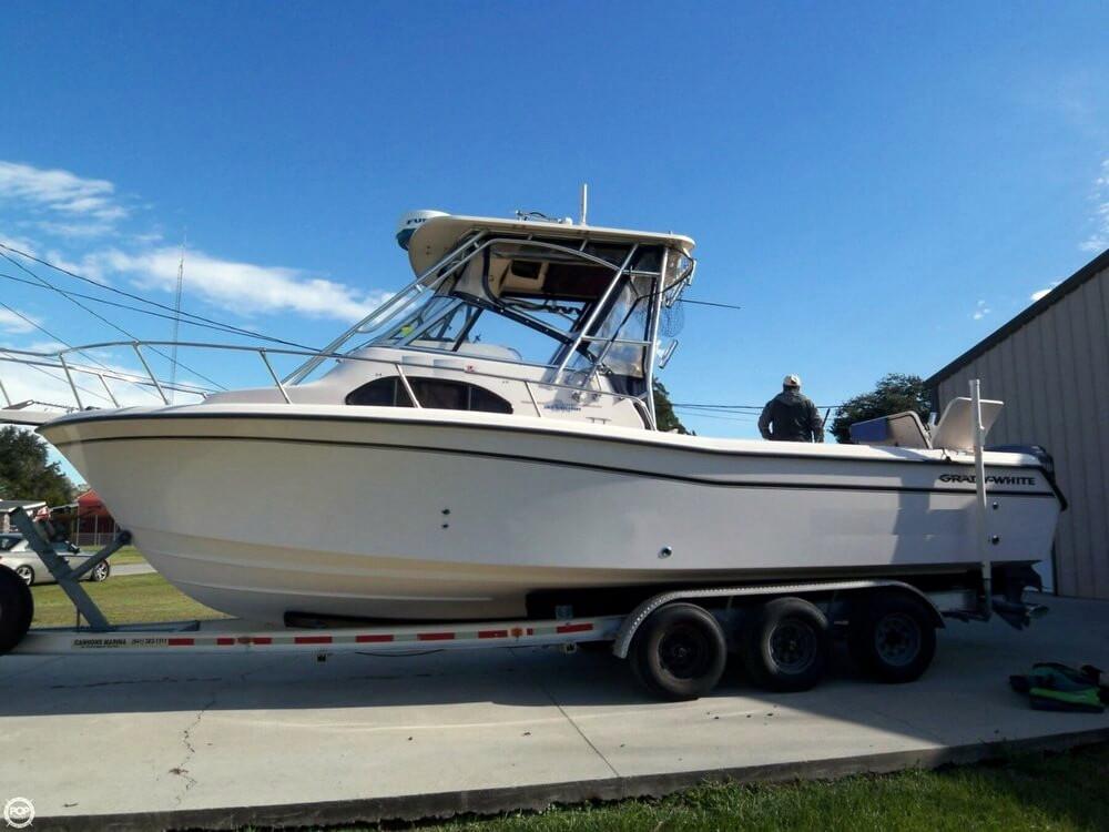 2005 used grady white 282 sailfish walkaround fishing boat for Grady white fishing boats