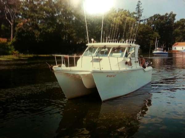 Used Baha Cruisers 290 King Cat Ht Power Catamaran Boat For Sale