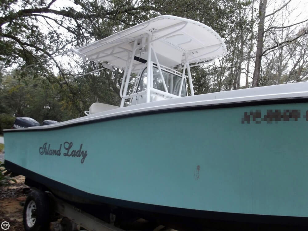 1987 used mako 261 center console fishing boat for sale for Used center console fishing boats for sale