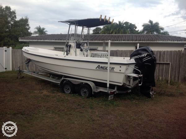 2009 used angler 22 panga center console fishing boat for for Angler fish for sale