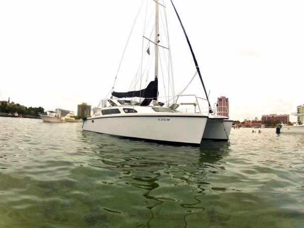 Used Gemini 105 MC Catamaran Sailboat For Sale
