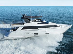New Hatteras M75 Panacera House Boat For Sale