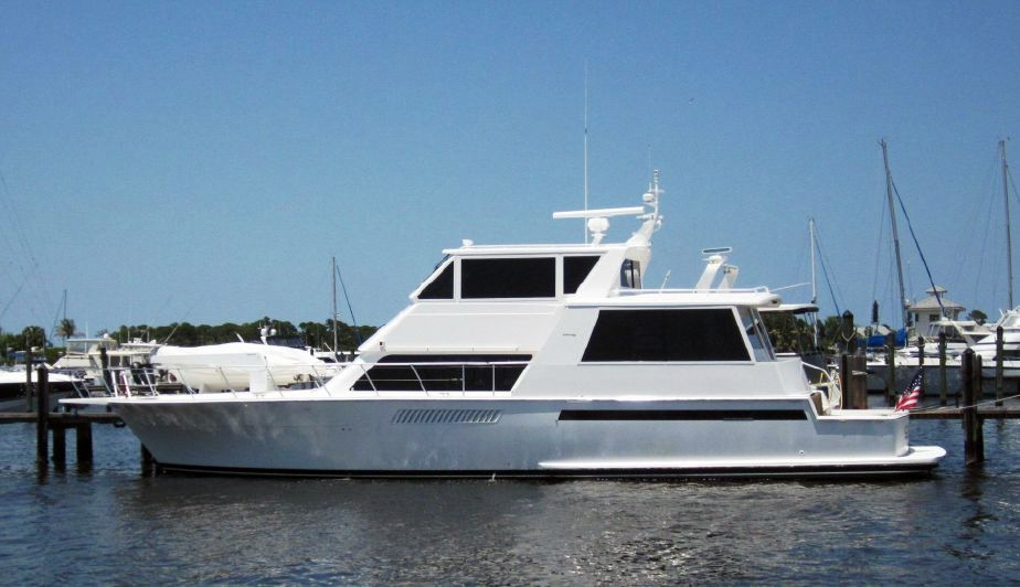2000 used viking 60 cockpit sport yacht motor yacht for for Used motor yacht for sale
