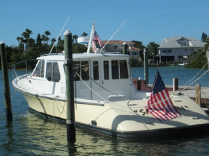 Used True North 38 Explorer Cruiser Boat For Sale
