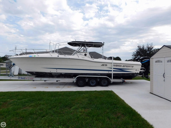 Used Hydra-Sports 3300 VSF Center Console Fishing Boat For Sale