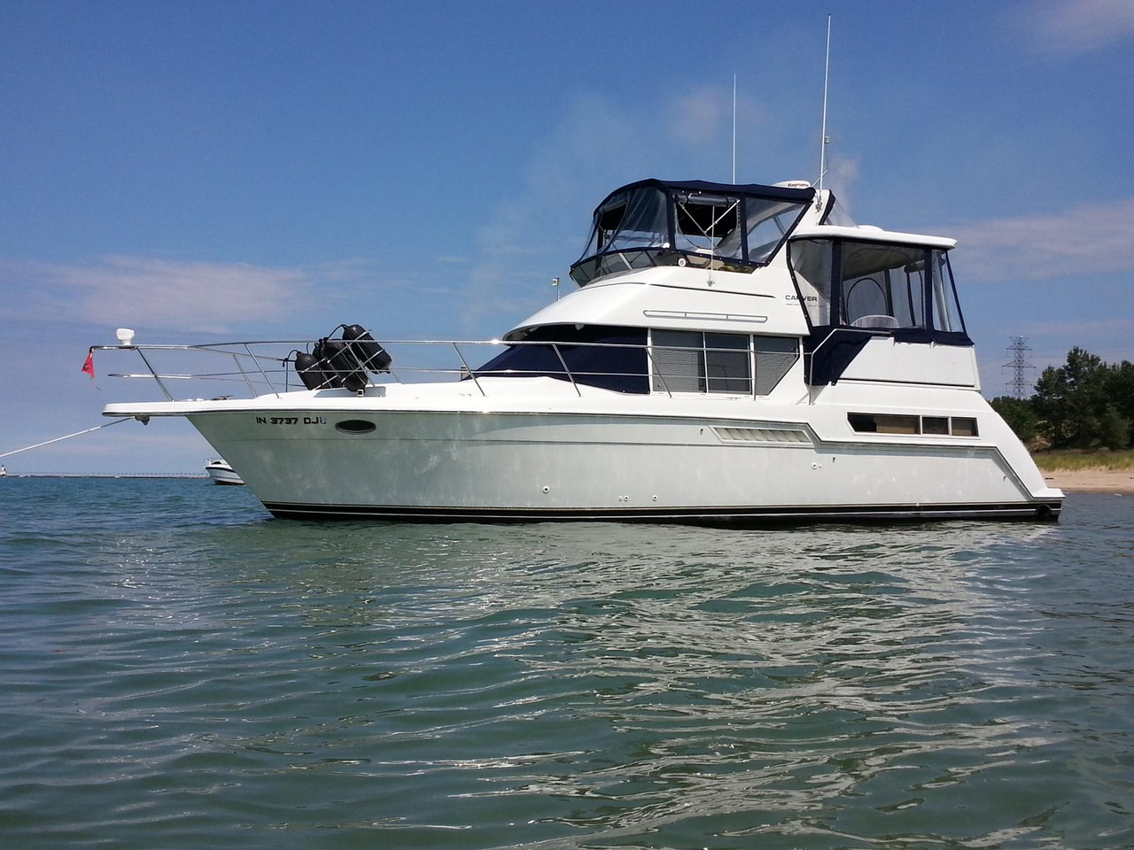 1998 Used Carver 355 Aft Cabin Motor Yacht Cruiser Boat