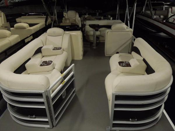 New Aqua Patio AP 240 CB Pontoon Boat For Sale