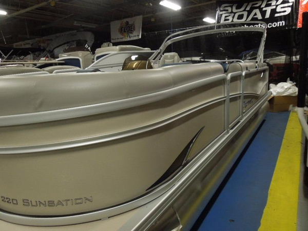 New Premier 220 Sunsation Pontoon Boat For Sale
