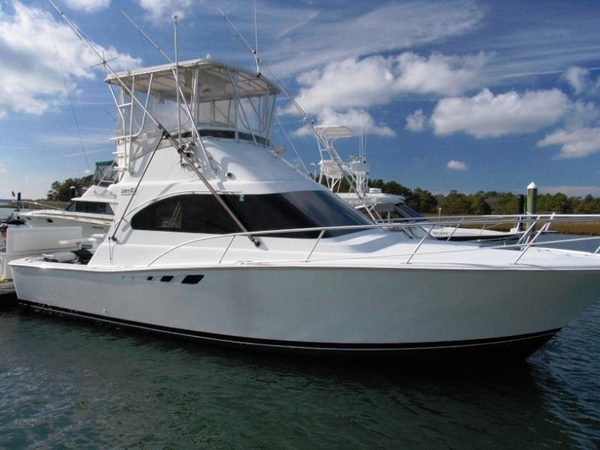 Used Luhrs 350 Tournament Convertible Fishing Boat For Sale