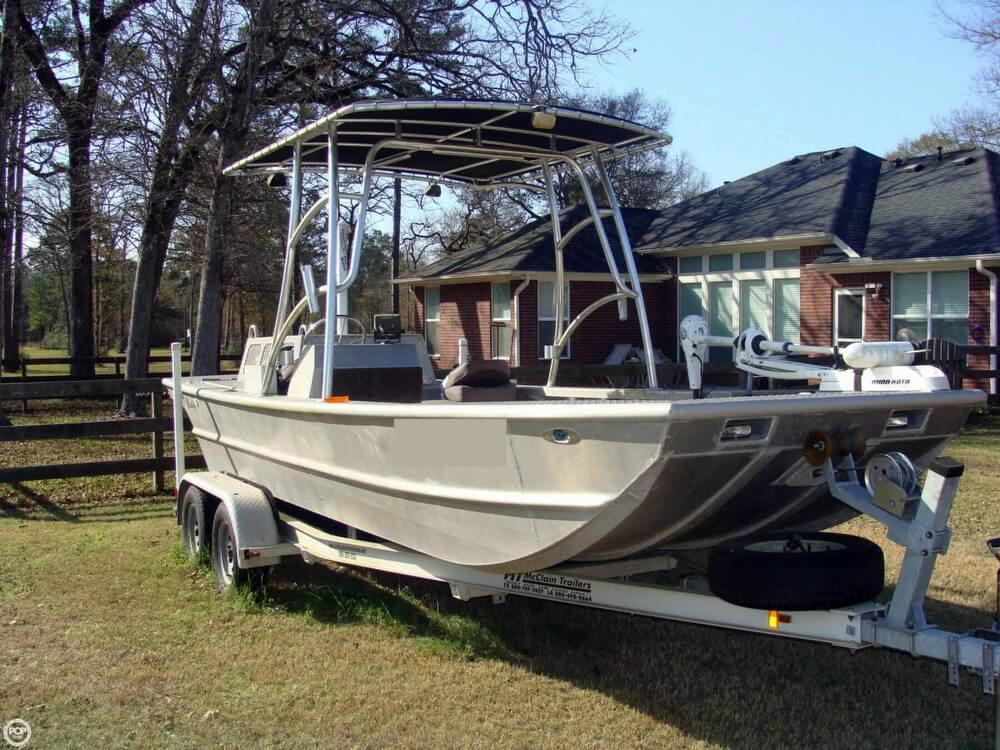 2009 used scullys custom 20 aluminum fishing boat for sale for Used aluminum fishing boats