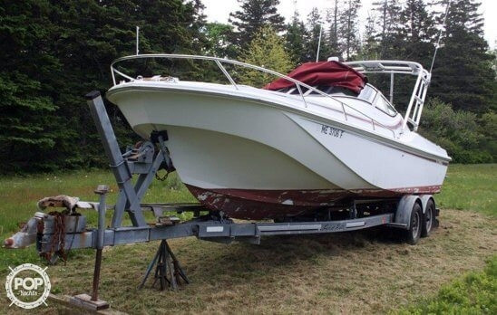 Used Boston Whaler 2500 Temptation Walkaround Fishing Boat For Sale