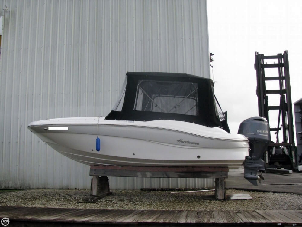 2016 used hurricane sundeck ss203 deck boat for sale for Hurricane sundeck for sale