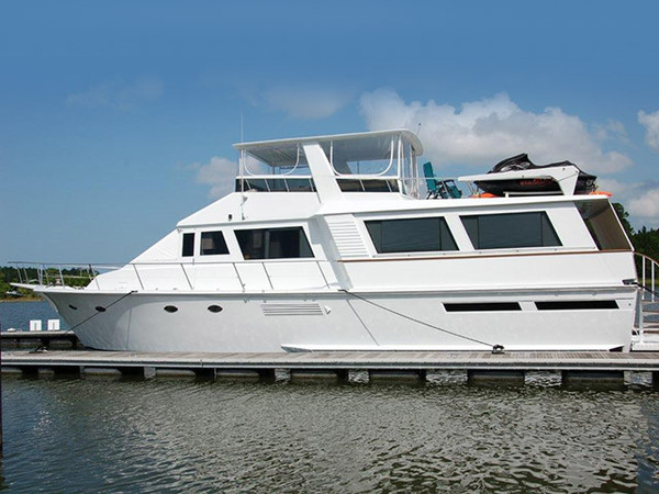 Used Viking Motoryacht Wide Body Motor Yacht For Sale