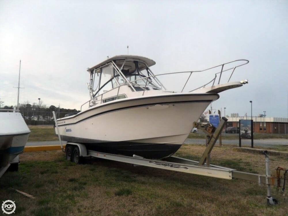 1995 used grady white 26 islander walkaround fishing boat for Grady white fishing boats