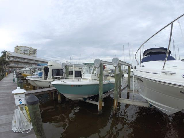 2013 used everglades 230 cc saltwater fishing boat for for How to not get seasick on a fishing boat