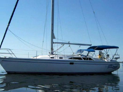 Used Catalina Mk Ii Wing Keel Cruiser Sailboat For Sale